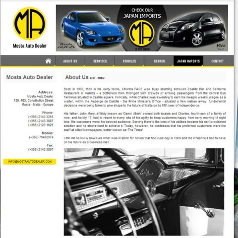 Mosta Auto Dealer